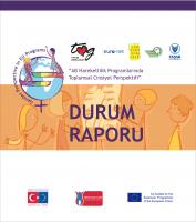 Toplumsal Cinsiyet Perspektifinden AB Hareketlilik Programları için Durum raporu (2018)